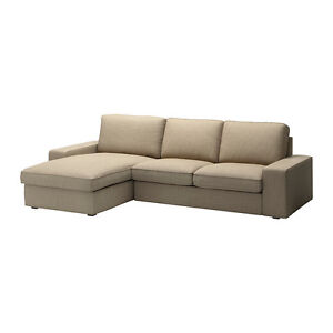 ikea couch, kivik love seat with chaise London Ontario image 1