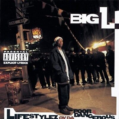 Big L   Lifestylez Ov Da Poor And Dangerous  New Cd  Explicit
