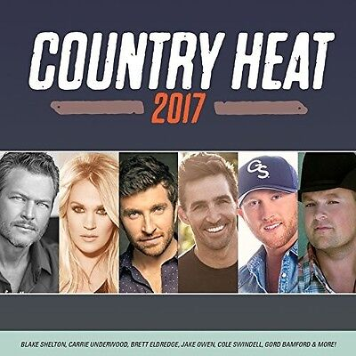 Various Artists - Country Heat 2017 / Various [New CD] Canada - Import