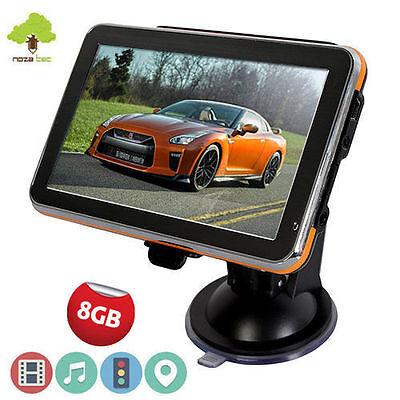 """4.3"""" 8GB GPS SAT NAV Navigation System Car Speedcam Free Lifetime UK EU Maps"""