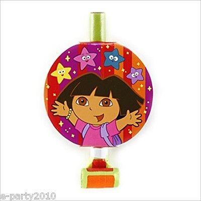DORA THE EXPLORER Star Catcher BLOWOUTS (8) ~ Birthday Party Supplies - Dora Star Catcher