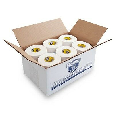 "Bulk Hockey Tape - 30 Rolls of White Howies Cloth Hockey Stick Tape 1""X25 yds"
