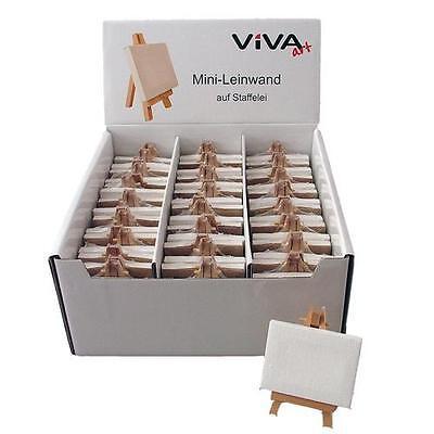 45 x Ministaffelei Tischkarten Tischstaffelei Mini Keilrahmen Platzkarten