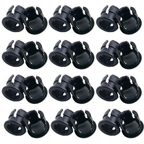 Aoyoho 100 PCS Plastic 5mm LED Holder LED Light Mounting Holders