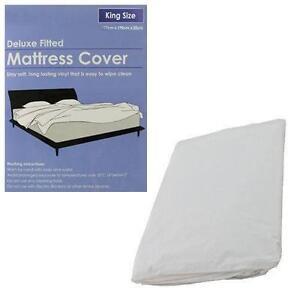 waterproof mattress protector ebay. Black Bedroom Furniture Sets. Home Design Ideas