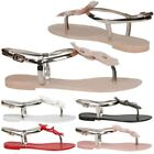 Synthetic Sandals for Women with Jelly