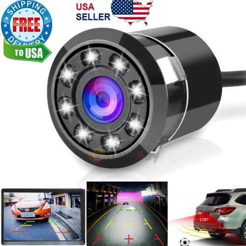 Waterproof 170°Hd Car Rear View Backup Reverse Parking Camera Night Vision  GN