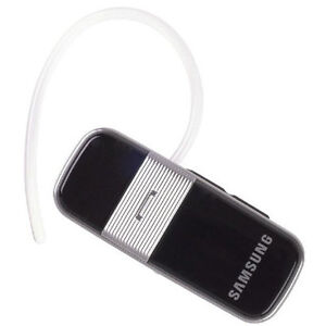 OEM Samsung WEP480 Bluetooth Earset Mono Headset Black, Charger incl.