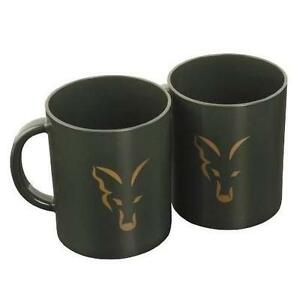 Fox Royale Green Plastic Carp Fishing Mug
