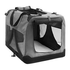 Large Portable Soft Pet Dog Crate Cage Kennel Grey Brisbane City Brisbane North West Preview