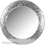 Round Glass Mirror