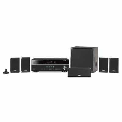 Yamaha YHT-4930UBL 5.1-channel Home Theater in a Box System New YHT4930UBL