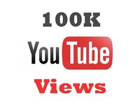 You tube Views 100K!!! For 50£ only / quick / 100% guaranted /