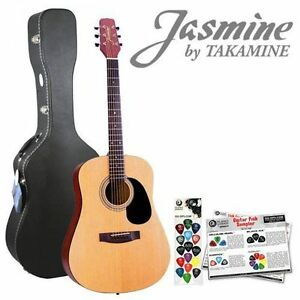 Jasmine by Takamine Left-Handed Acoustic Guitar