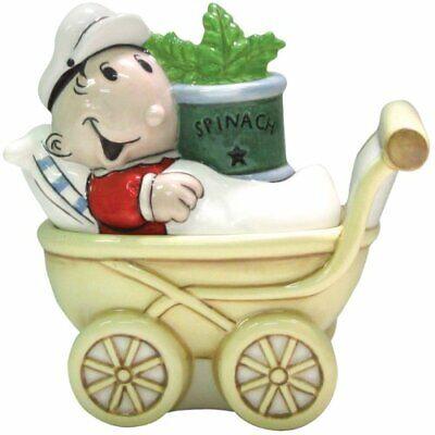 Westland Giftware Popeye Sweet Pea in Stroller Salt Pepper Shaker Set Kitchen ()