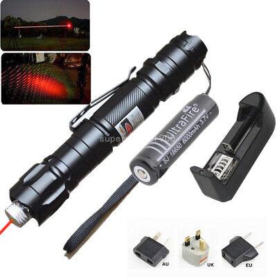 Professional Red Laser Pointer 1mw 532nm 8000M Powerful Light Pen Lazer Beam