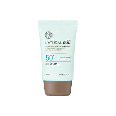 [THE FACE SHOP] Natural Sun Eco No Shine Hydrating Sun Cream 50ml (SPF50+ PA+++)