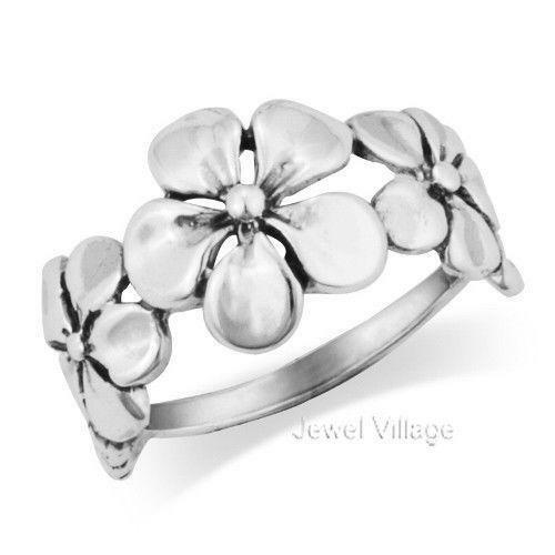 Sterling Silver Lei Band Ring