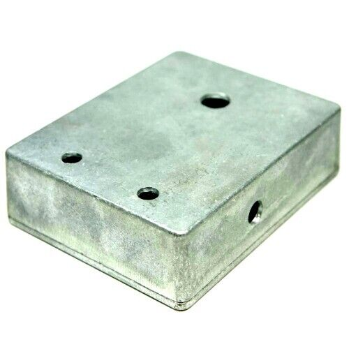 Guitar Effects Pedal Enclosure Hammond 1590BB size, Pre-Drilled