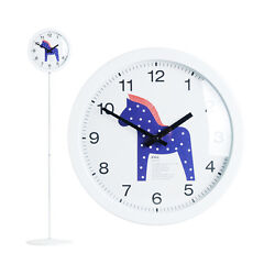Modern Stand Floor Clock Home Decor Interior Separate Stand Clock - Unicorn(BL)