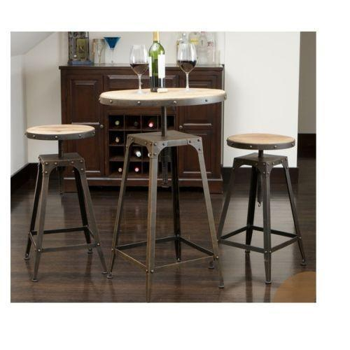 Pub style dining sets ebay for Pub style dining sets