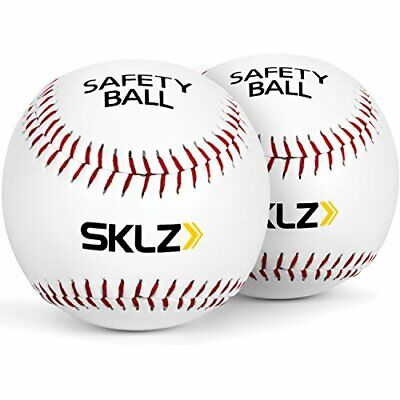 Baseball Soft Cushioned Safety Baseballs, 2 Pack Kids Play Outdoor Softball