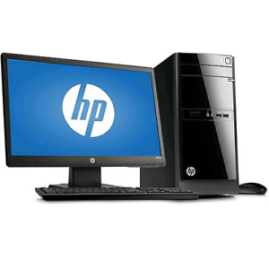 """HP Computer ! Works very well. Brand new 24"""" Monitor"""