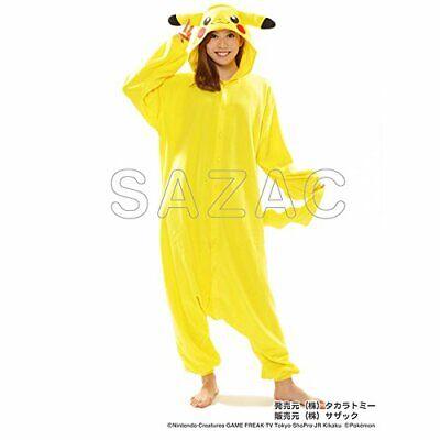 Sazac Pokemon Pikachu Pile Costume Adulto Unisex Cosplay Halloween F/S Giappone