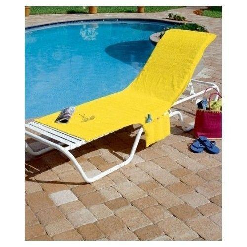 Personalized Chaise Lounge Towels: Lounge Chair Towel
