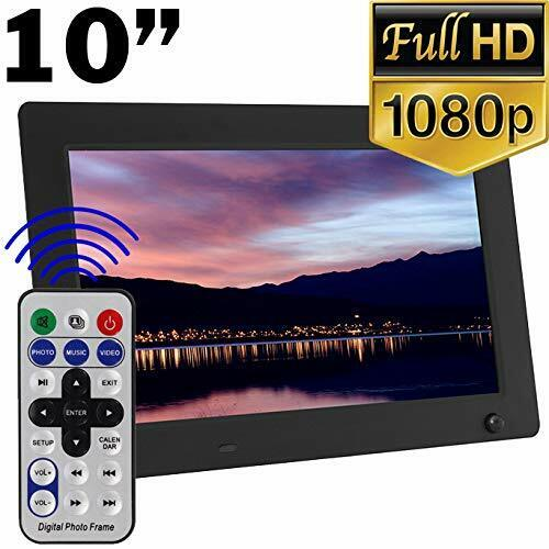 "1080P High Resolution 10"" Digital Photo Frame with Motion Sensing"