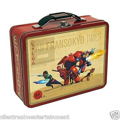 Big Hero 6 Marvel Team Tin Lunch Box by Tin Box - Big Hero 6 Marvel