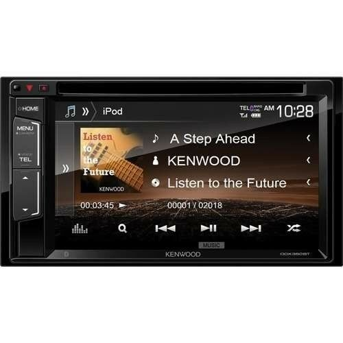 """NEW KENWOOD DDX350BT 6.2"""" DOUBLE DIN TOUCHSCREEN CAR STEREO DVD BLUETOOTH STEREO"""