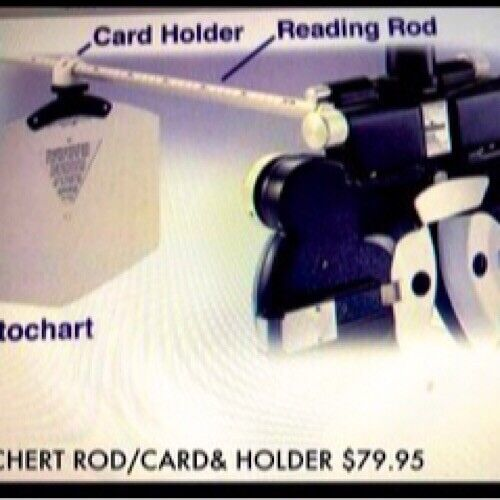 Reichert/Topcon an Replacement Card/Rod & Holder Fits ALL AO & Marco Phoropters