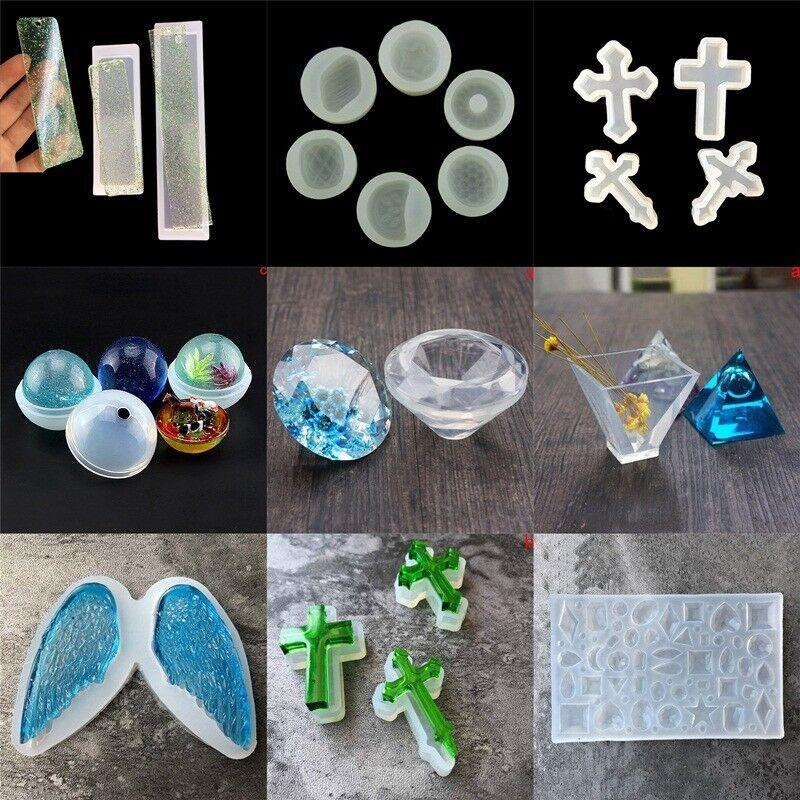 DIY Mold Casting Kreative Silikon Werkzeugform Für Anhänger Halskette DIY