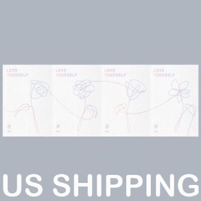 Us Shipping Bts  Love Yourself   Her 5Th Mini Album Random Cd Poster Storegift