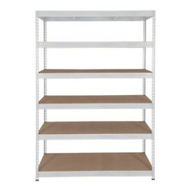 Heavy Duty Shelving x2 - Mint Conditions
