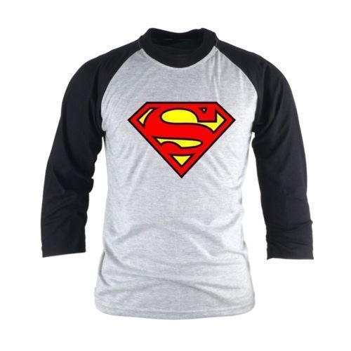 superman logo t shirt ebay. Black Bedroom Furniture Sets. Home Design Ideas