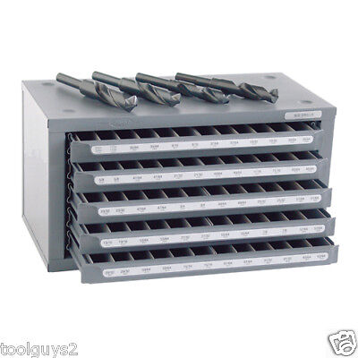 Huot Sd Reduced Shank Drill 3364 To 6364 Dispenser Organizer Cabinet 13166