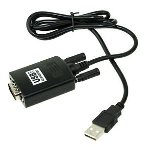 RS232 RS-232 Serial to USB 2.0 PL2303 Cable Adapter Converter for Win 7 MAC OS