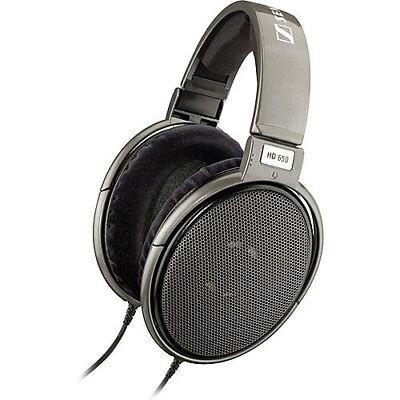 Sennheiser Reference Class Stereo Headphones   Gray  Hd 650