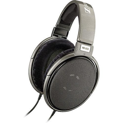 Sennheiser Hi-Fi Stereo Headphones Silver HD650