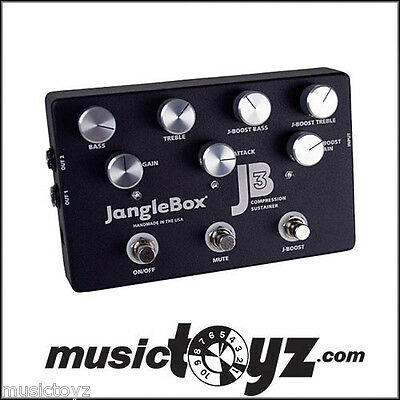 Janglebox JB3 Compressor Guitar Pedal, NEW, Auth Dealer, FREE Ship / Gift