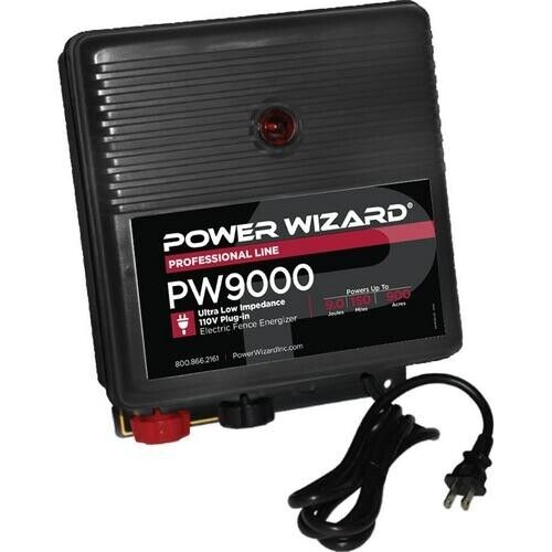 PW9000 Power Wizard Fence Energizer / 3 year manufacturer warranty