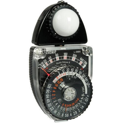 Sekonic Studio Deluxe II L-398M Light Meter w/ Accessories  - $75.00