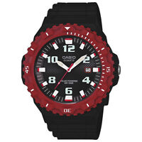 Brand New Casio Men's Solar Powered Watch Black/Red