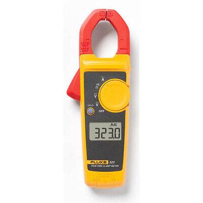 Fluke 323 True-rms Ac Clamp Meter 400a Ac 600v Acdc