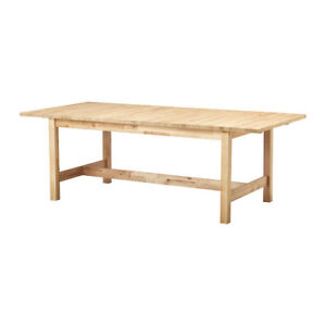 Available NOW - IKEA dining table (in St Lazare)