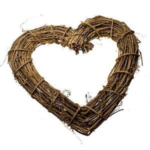 Gisela-Graham-Natural-Twig-Heart-Wreath-30cm-Home-Wedding-Decoration