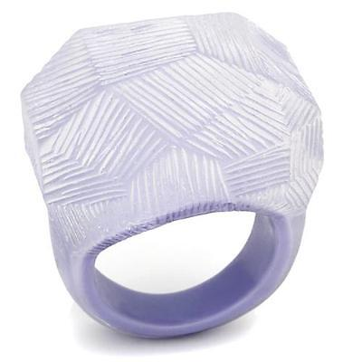 Lucite Plastic Ring - NEW!!! Jewelry  Lucite Acrylic Plastic ring Size 5.6.7.8.9. Free USA shipping!!!
