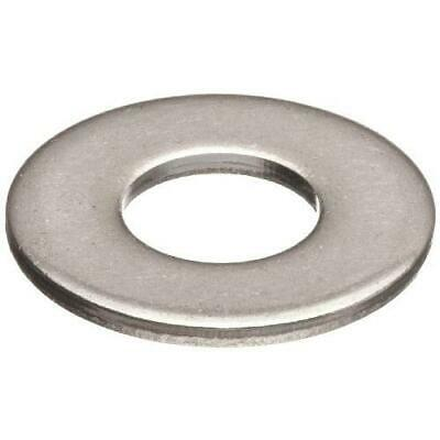 "100 Qty 3/8"" Stainless Steel SAE Flat Finish Washers"